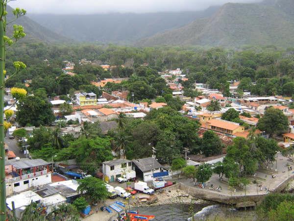 El pueblo de Choroní - Venezuela Choroni - Venezuela