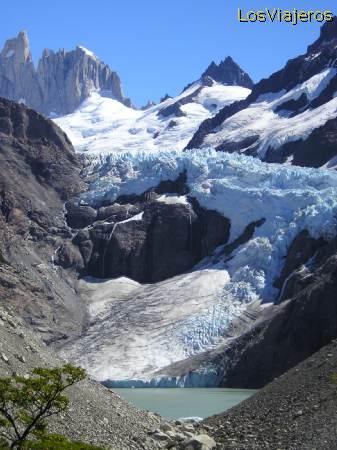 Glaciar Chalten - Argentina Chalten Glacier - Argentina