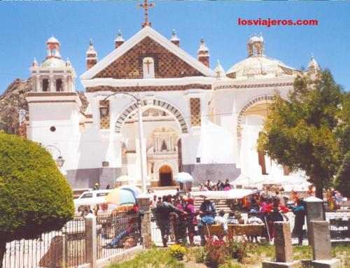 Copacabana's Santuary - Bolivia Santuario de la Virgen de Copacabana - Bolivia
