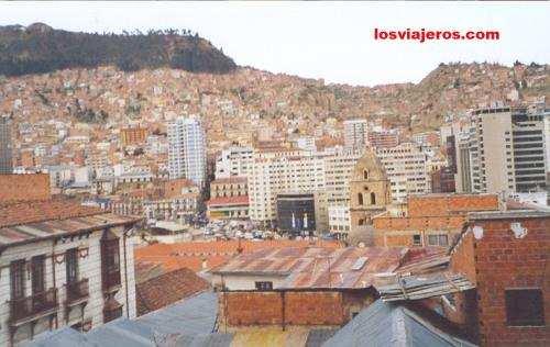 La Paz: Center of the town - Bolivia La Paz: Centro - Bolivia