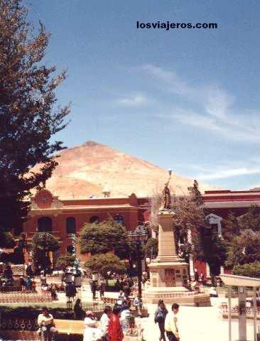 Cerro Rico - Potosi - Bolivia Cerro Rico -Potosi - Bolivia