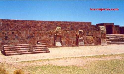 Tiwanaku: pyramid - Bolivia Tiwanako: piramide - Bolivia