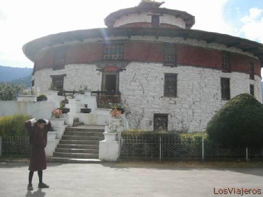 National Museum - Bhutan Museo Nacional - Bhutan