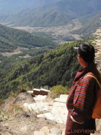 Paro valley - Bhutan Valle de Paro - Bhutan