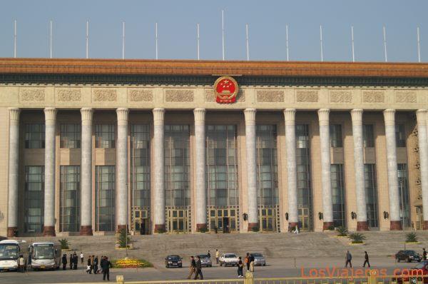 Tiananmen Square - Beijing - China Parlamento de China - Plaza de Tiananmen - Pekin