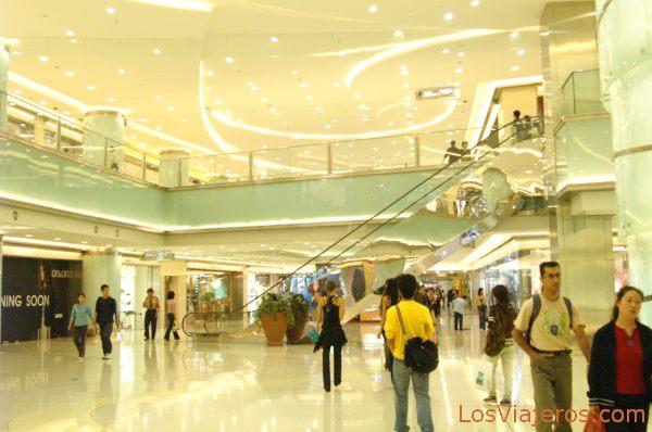 Modern Commercial Center - Beijing - China Centro Comercial - Pekin - China