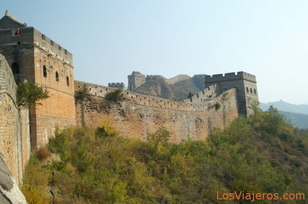 Great Wall -Simatai- Beijing - China La Gran Muralla -Simatai- Pekin - China