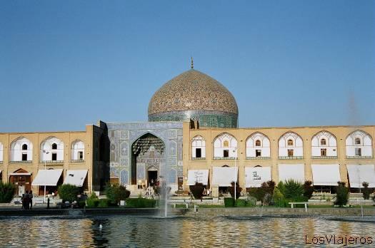 Mezquita Lotfollah en Isfahan