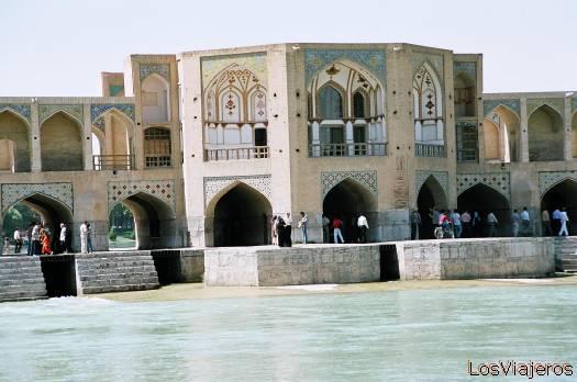 Esfahan-Khaju Bridge-Iran Isfahan-Puente Khaju-Irán - Iran
