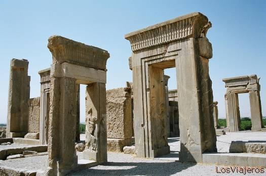 Persepolis-The Tachara Palace-Iran Persépolis-Palacio de Tachara-Irán - Iran