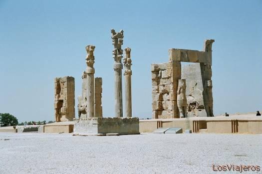 Persepolis-The Welcoming Hall-Iran Persépolis-El Salón de Recepción-Irán - Iran