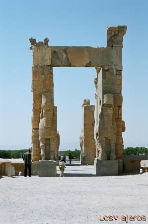 Persepolis-Xerxe's Gate-Iran Persépolis-Puerta de Jerjes-Irán - Iran