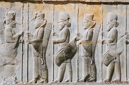 Persépolis-Relieve-Irán - Iran Persepolis-Relief-Iran
