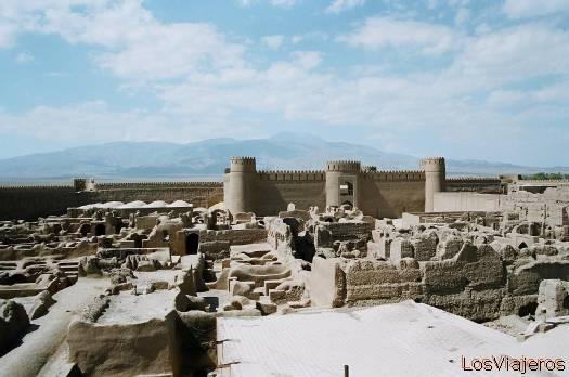Rayen-Citadel-Iran Rayen-Ciudadela-Irán - Iran