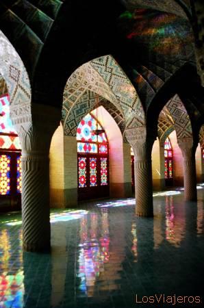 Shiraz-Mezquita Nassir ol Molk-Irán - Iran