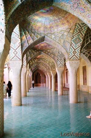 Shiraz-Nasir ol Molk Mosque-Iran Shiraz-Mezquita Nassir ol Molk-Irán - Iran