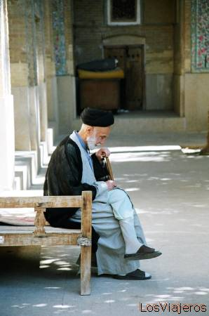 Mullah en la  Madrassa del Khan