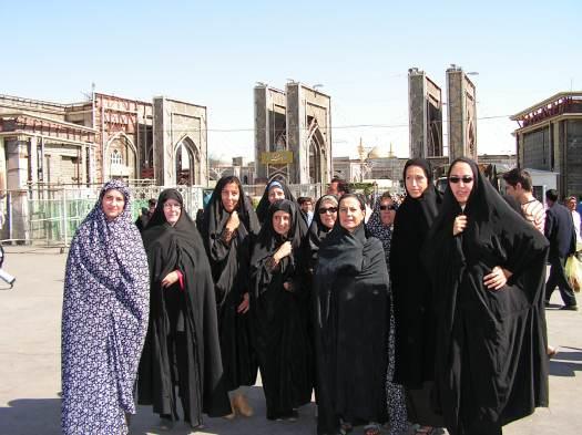 Estilismo para entrar a Mashad-Irán - Iran