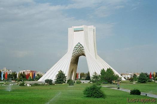 Teherán-Monumento Azadi-Irán - Iran Tehran-Azadi Monument-Iran