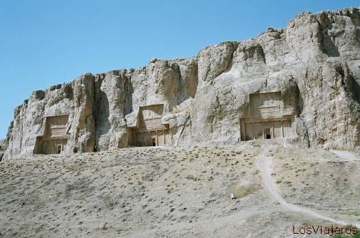 Necrópolis de Naqsh e Rostam-Irán - Iran Necropolis Naqsh e Rostam-Iran