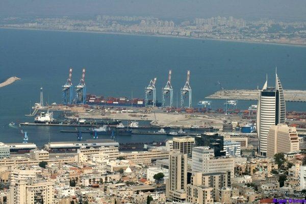 Port of Haifa - Israel Puerto de Haifa - Israel