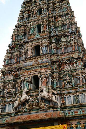 Templo Hindú - Kuala Lumpur - Malasia