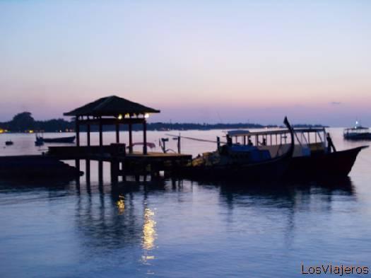Muelle- Maldivas