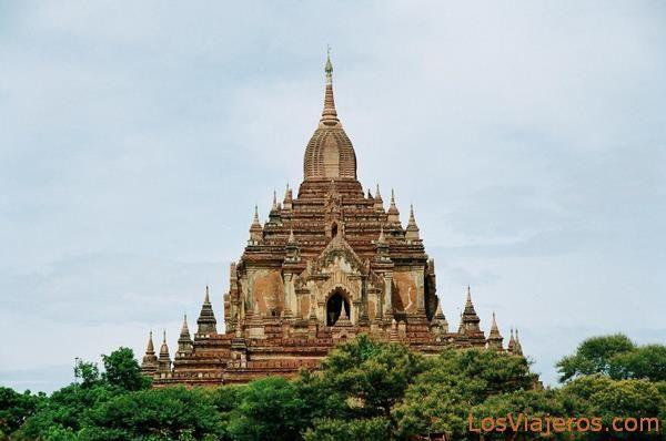 Htilominlo Temple-Bagan-Burma - Myanmar Templo Htilominlo-Bagan-Myanmar