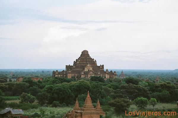 Dhammayangyi Temple-Bagan-Burma - Myanmar Templo Dhammayangyi-Bagan-Myanmar