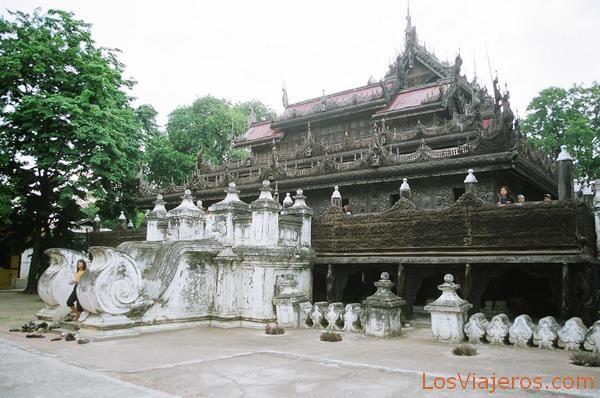 Mandalay Myanmar  city images : In Bin Kyaung Mandalay Myanmar Shwe In Bin Kyaung Monastery Mandalay ...
