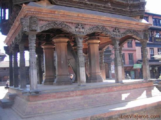 Templo en Bhaktapur - Nepal Temple in Bhaktapur - Nepal
