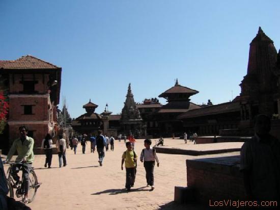 Plaza Durbar de Bhaktapur - Nepal Durbar Square - Bahktapur - Nepal