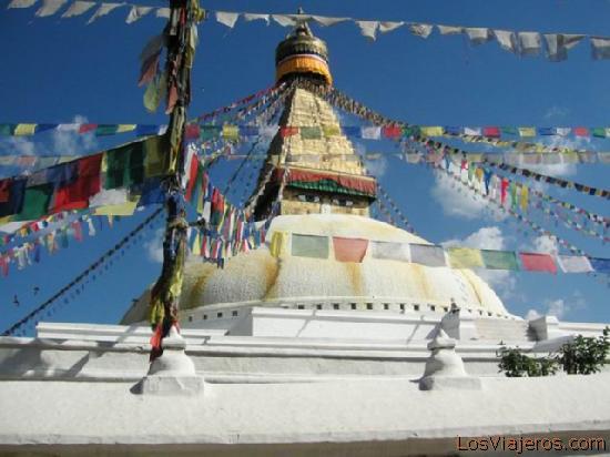 Estupa de Bodhanath - Nepal Stupa of Bodanath - Nepal