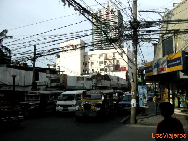 Manila streets - Philippines Calles de Manila - Filipinas