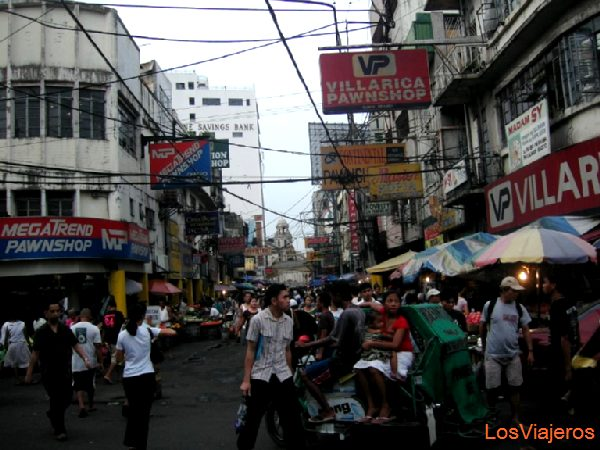 Mercadillos de Manila - Filipinas Manila Markets in the street - Philippines