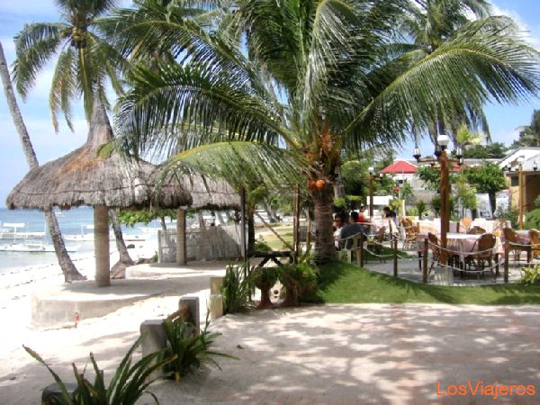 Playa Alona, Bohol - Filipinas Alona Beach, Bohol - Philippines