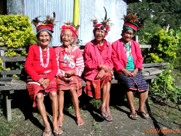 Womans from Banaue - Philippines Mujeres de Banaue - Filipinas