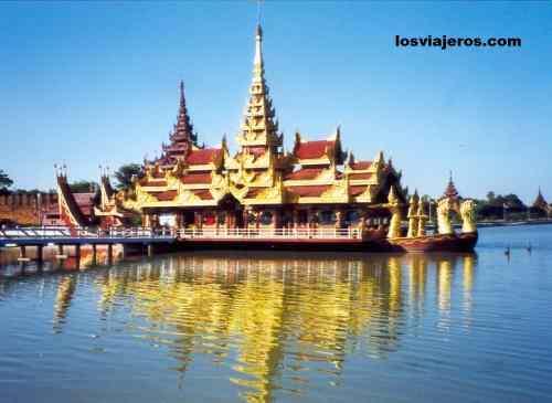 Palacio real - Mandalay - Myanmar Mandalay Royal Palace - Myanmar