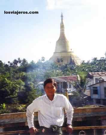 Pagoda of Pegu (Bago) Birmania - Myanmar Pagoda de Pegu (Bago) Birmania - Myanmar