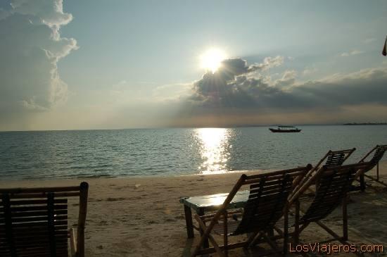 Playa de Occhateual -Sihanoukvile -Camboya Occhateual beach -Sihanoulville -Cambodia