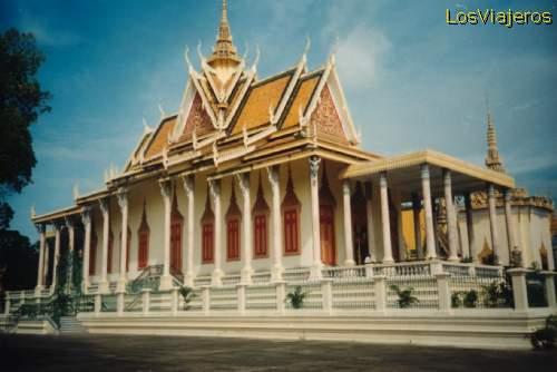 Phnom Penh - Silver Pagoda - Cambodia Phnom Penh Pagoda de Plata - Camboya