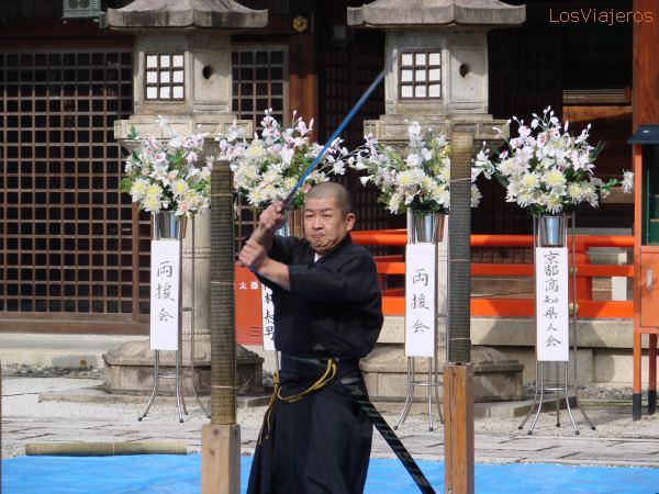 Sword Art -Kyoto - Japan El arte de la Espada -Kioto - Japón - Japon