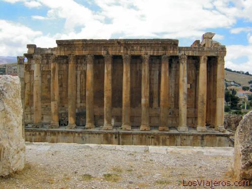 Templo de Jupiter o de Helios -Baalbeck - Libano