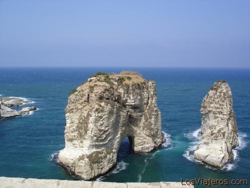 Acantilado de Mermwäid Beirut2roca1