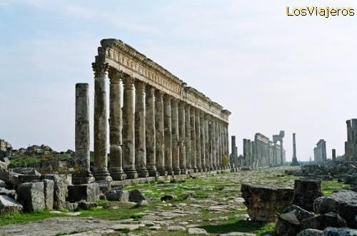 Apamea - Syria Apamea - Siria