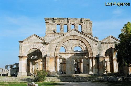 Basílica de San Simeón - Siria