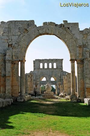 Basílica de San Simeón - Siria Basilica of St. Simeon - Syria