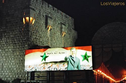 Citadel-Damascus - Syria Ciudadela-Damasco - Siria
