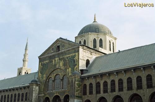 Omayyad Mosque-The Eagle Dome-Damascus - Syria Mezquita Omeya- Cúpula del Águila-Damasco - Siria