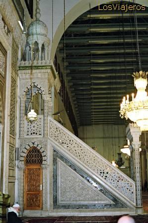 Omayyad Mosque-Prayer Hall-Damascus - Syria Mezquita Omeya-Oratorio- Damasco - Siria